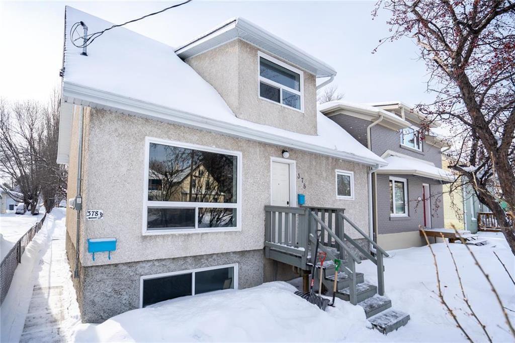 Main Photo: 378 Desautels Street in Winnipeg: St Boniface Residential for sale (2A)  : MLS®# 202003524