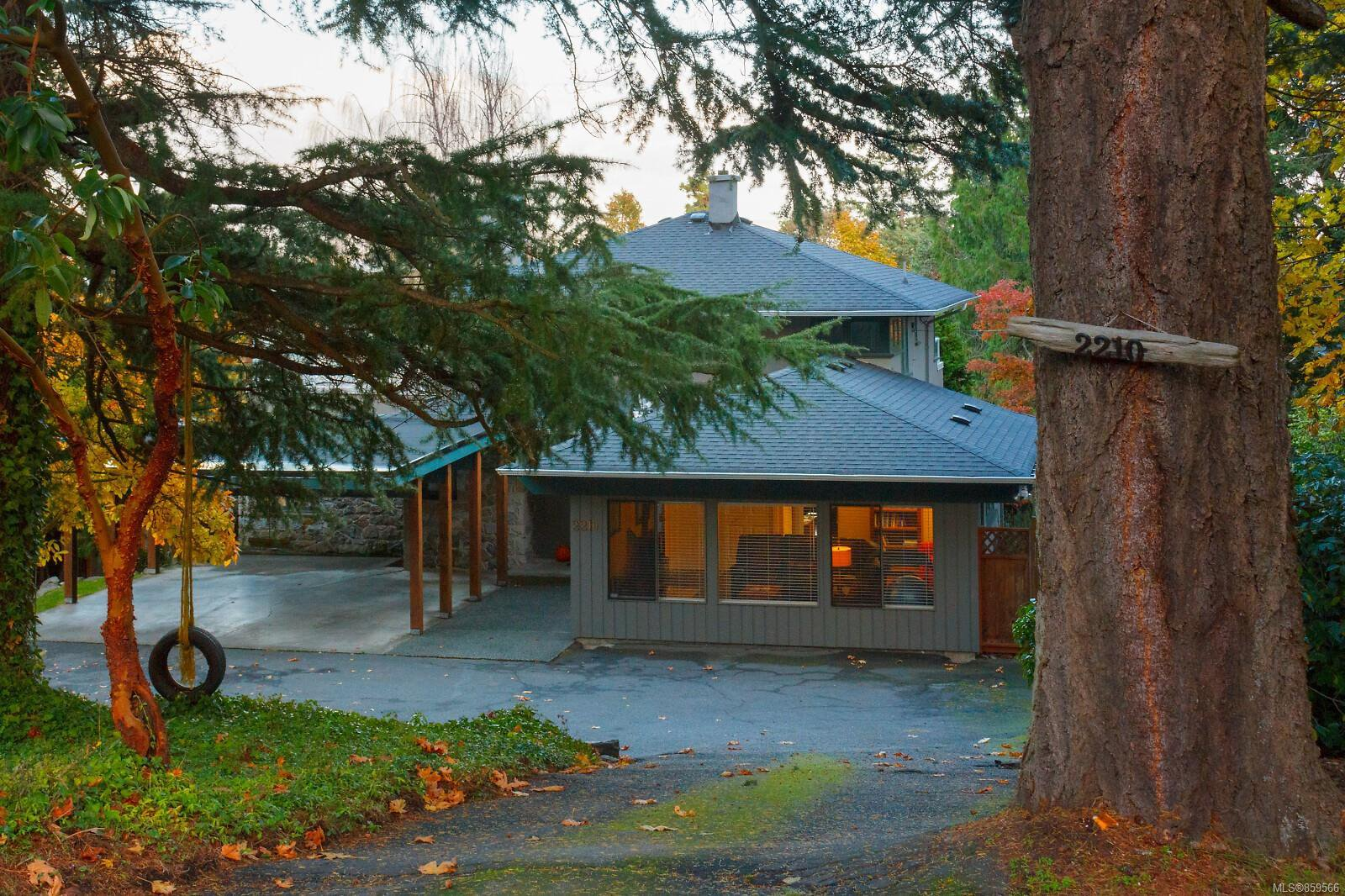 Main Photo: 2210 Arbutus Rd in : SE Arbutus House for sale (Saanich East)  : MLS®# 859566