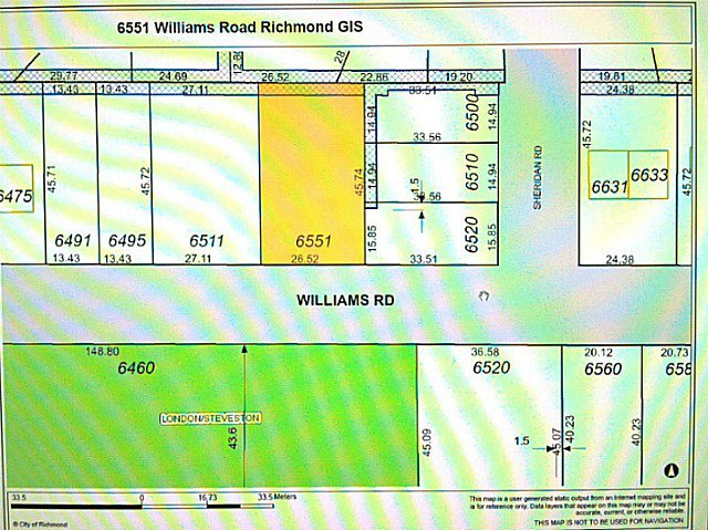 Main Photo: 6551 - 6553 WILLIAMS Road in Richmond: Woodwards Land for sale : MLS®# V1046132