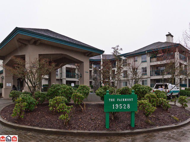 """Main Photo: 234 19528  FRASER HY in Surrey: Cloverdale BC Condo for sale in """"FAIRMONT"""" (Cloverdale)  : MLS®# F1204392"""