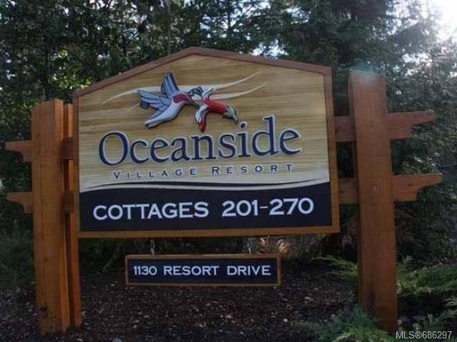Main Photo: 231 1130 RESORT DRIVE in PARKSVILLE: PQ Parksville Row/Townhouse for sale (Parksville/Qualicum)  : MLS®# 686297