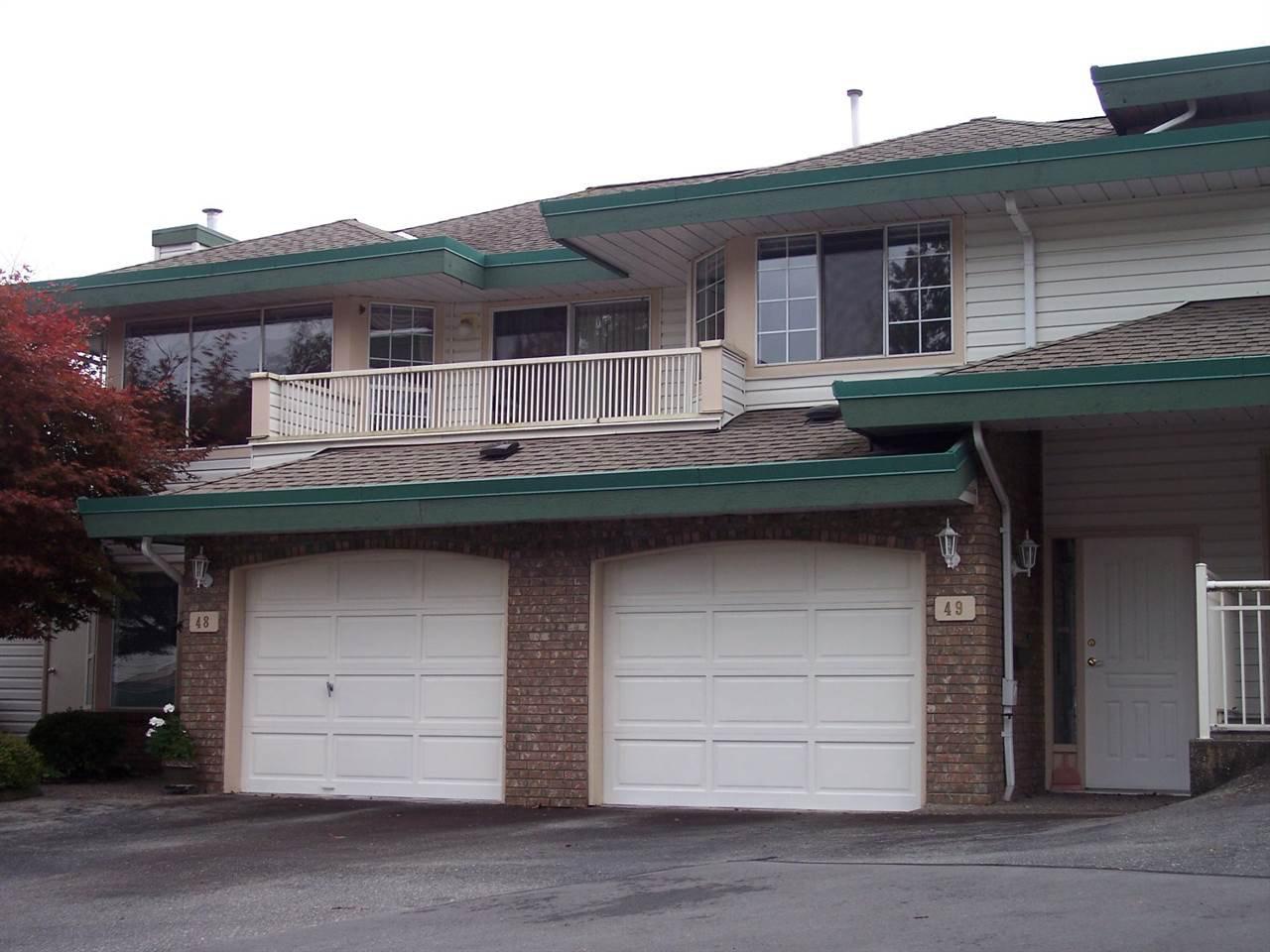 "Main Photo: 49 3115 TRAFALGAR Street in Abbotsford: Central Abbotsford Townhouse for sale in ""CEDARBROOK VILLAGE"" : MLS®# R2007846"
