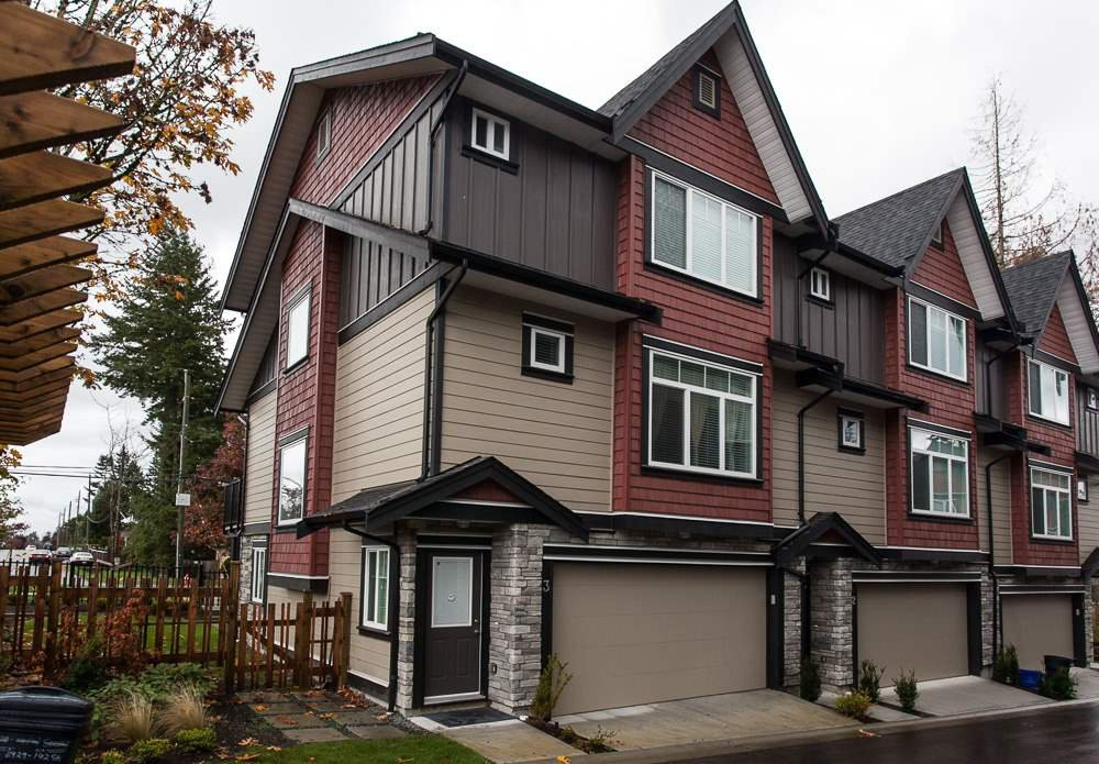 "Main Photo: 3 6929 142ND Street in Surrey: East Newton Townhouse for sale in ""Redwood"" : MLS®# R2011018"