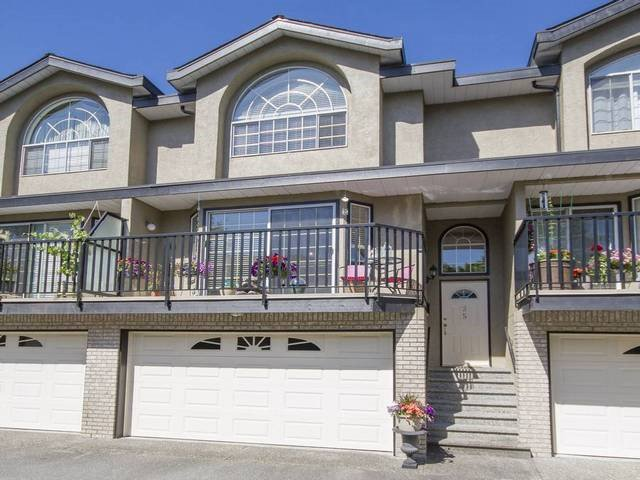 Main Photo: 35 22488 116 Avenue in Maple Ridge: East Central Townhouse for sale : MLS®# R2077248