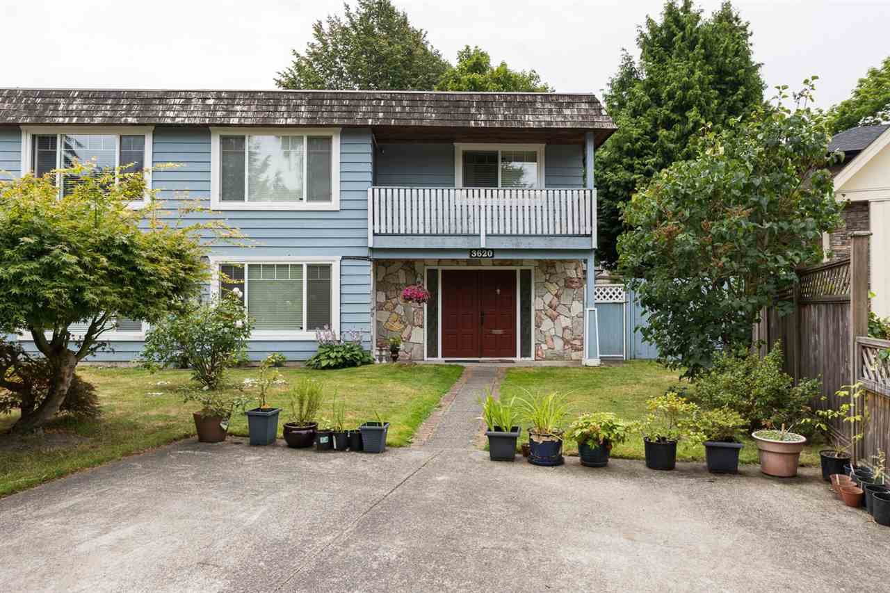Main Photo: 3620 SOLWAY Drive in Richmond: Steveston North House 1/2 Duplex for sale : MLS®# R2091389