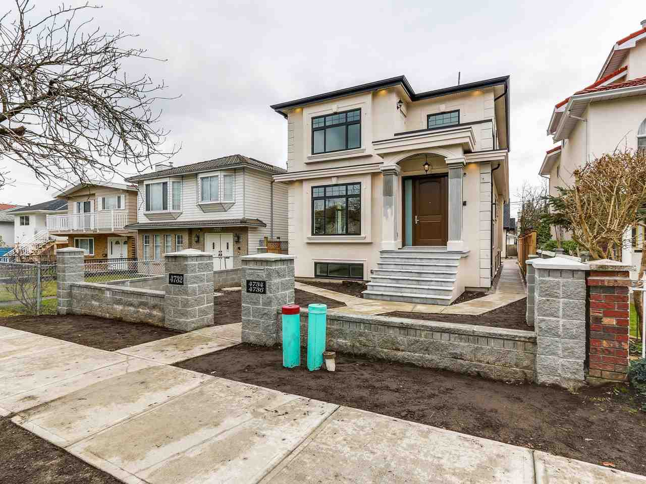 Main Photo: 4732 BRUCE Street in Vancouver: Victoria VE House for sale (Vancouver East)  : MLS®# R2141545