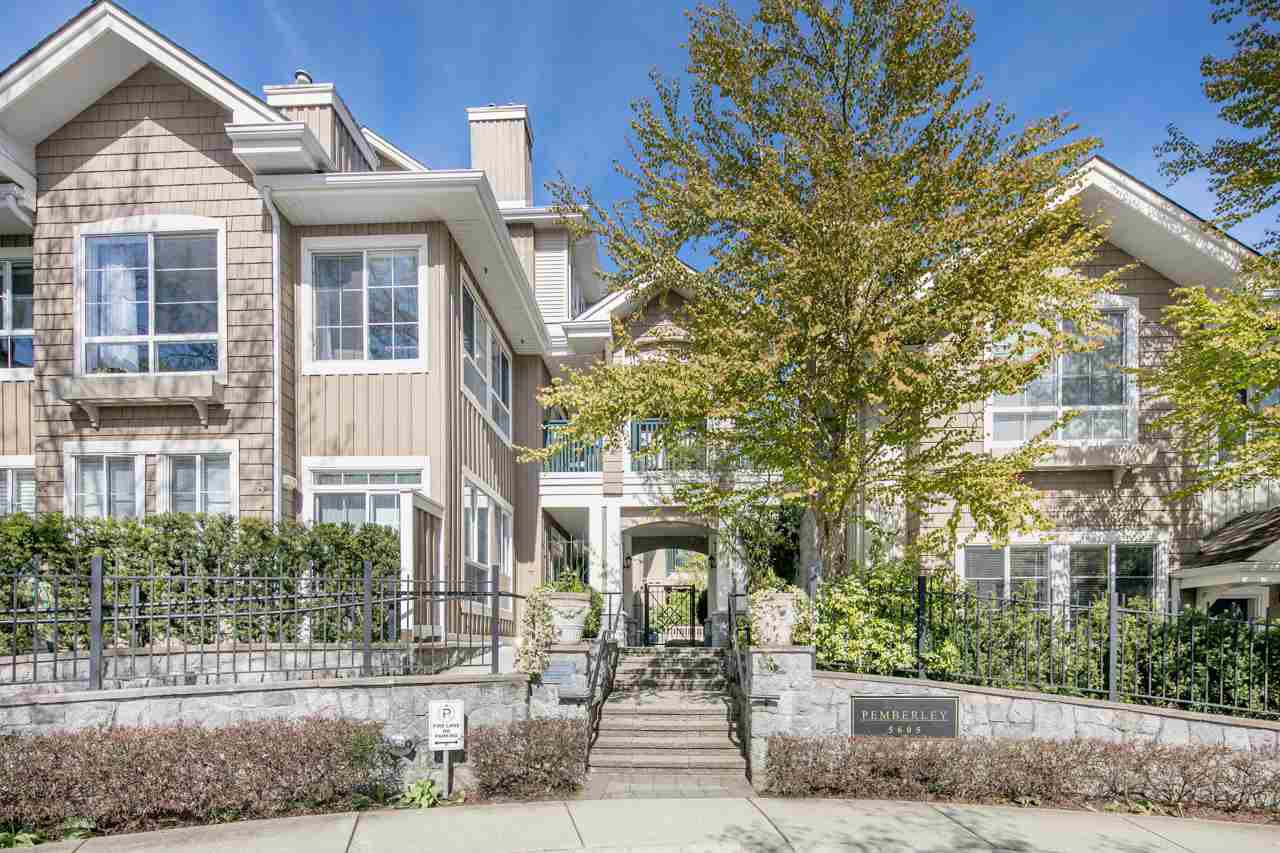 "Main Photo: 109 5605 HAMPTON Place in Vancouver: University VW Condo for sale in ""THE PEMBERLEY"" (Vancouver West)  : MLS®# R2160612"