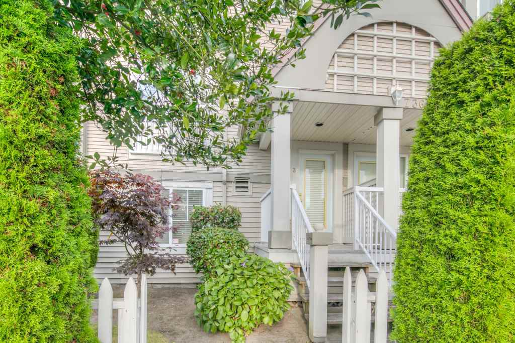 """Main Photo: 3 7360 GILBERT Road in Richmond: Brighouse South Townhouse for sale in """"Sommerside"""" : MLS®# R2190715"""