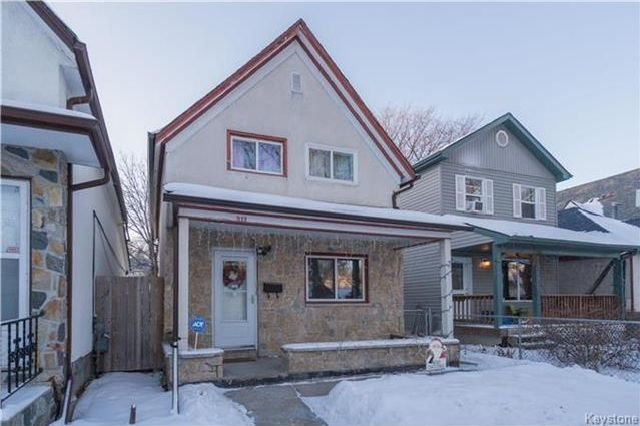 Main Photo: 312 Toronto Street in Winnipeg: West End Residential for sale (5A)  : MLS®# 1730606