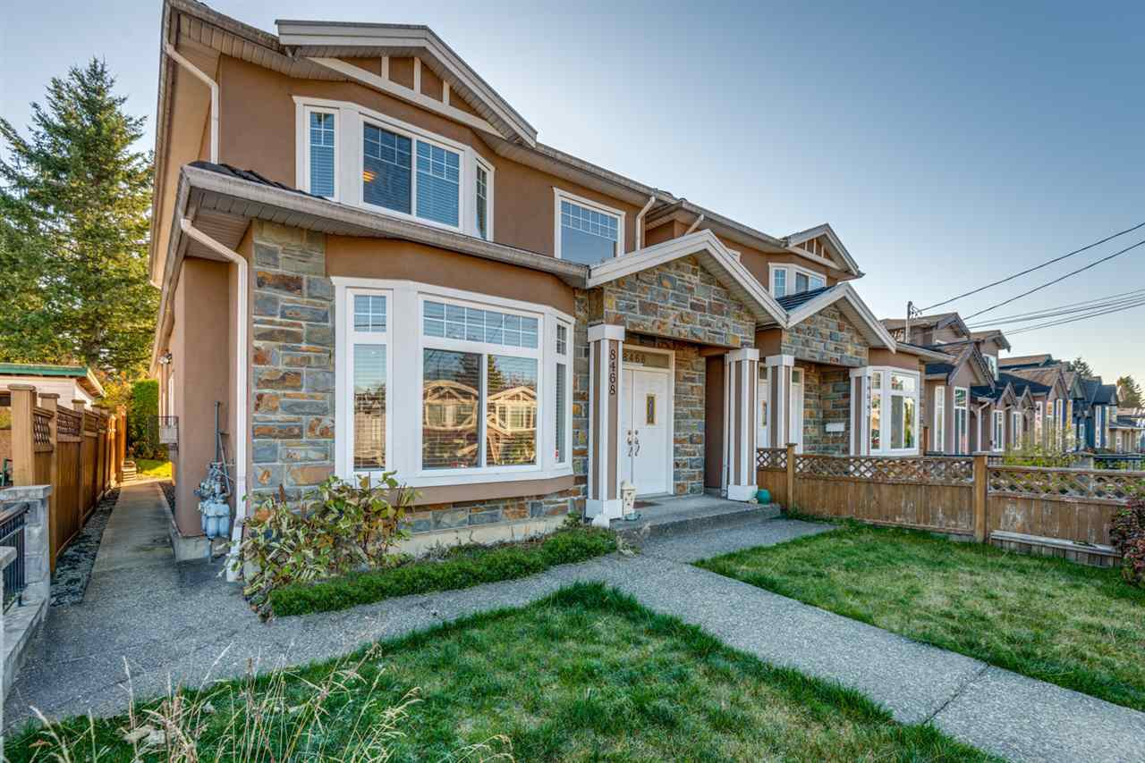 Main Photo: 8468 14TH AVENUE in : East Burnaby 1/2 Duplex for sale : MLS®# R2220442