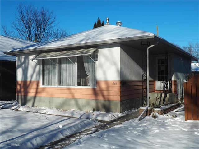 Main Photo: 543 Tremblay Street in Winnipeg: Norwood Single Family Detached for sale (2B)  : MLS®# 1827145