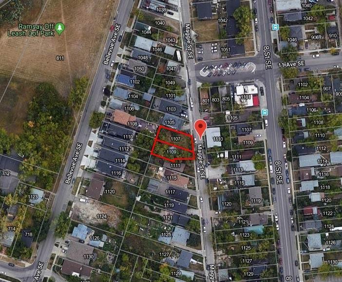 Main Photo: 1107 MAGGIE Street SE in Calgary: Ramsay Land for sale : MLS®# C4226461