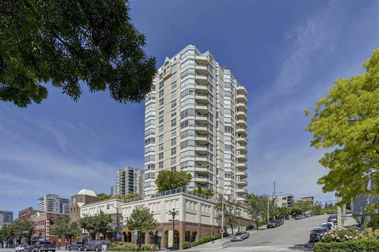 """Main Photo: 903 328 CLARKSON Street in New Westminster: Downtown NW Condo for sale in """"Highbourne Towers"""" : MLS®# R2381297"""