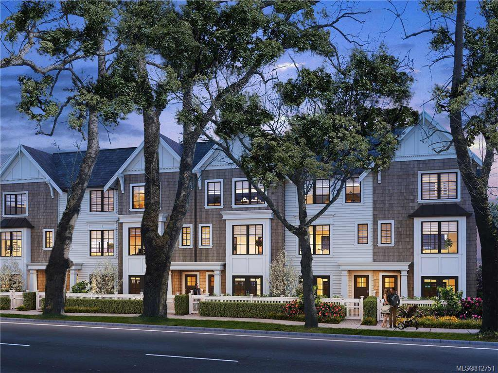 Main Photo: TH4 1810 Kings Rd in Victoria: Vi Jubilee Row/Townhouse for sale : MLS®# 812751