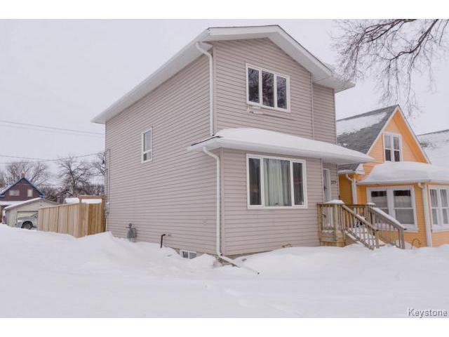 Main Photo: 315 Pandora Avenue West in WINNIPEG: Transcona Residential for sale (North East Winnipeg)  : MLS®# 1401752