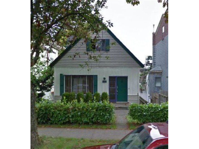Main Photo: 1123 E 10TH Avenue in Vancouver: Mount Pleasant VE House for sale (Vancouver East)  : MLS®# V1053069