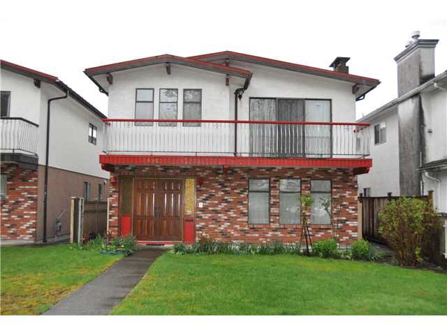 Main Photo: 2490 TURNER Street in Vancouver: Renfrew VE House for sale (Vancouver East)  : MLS®# V1059682