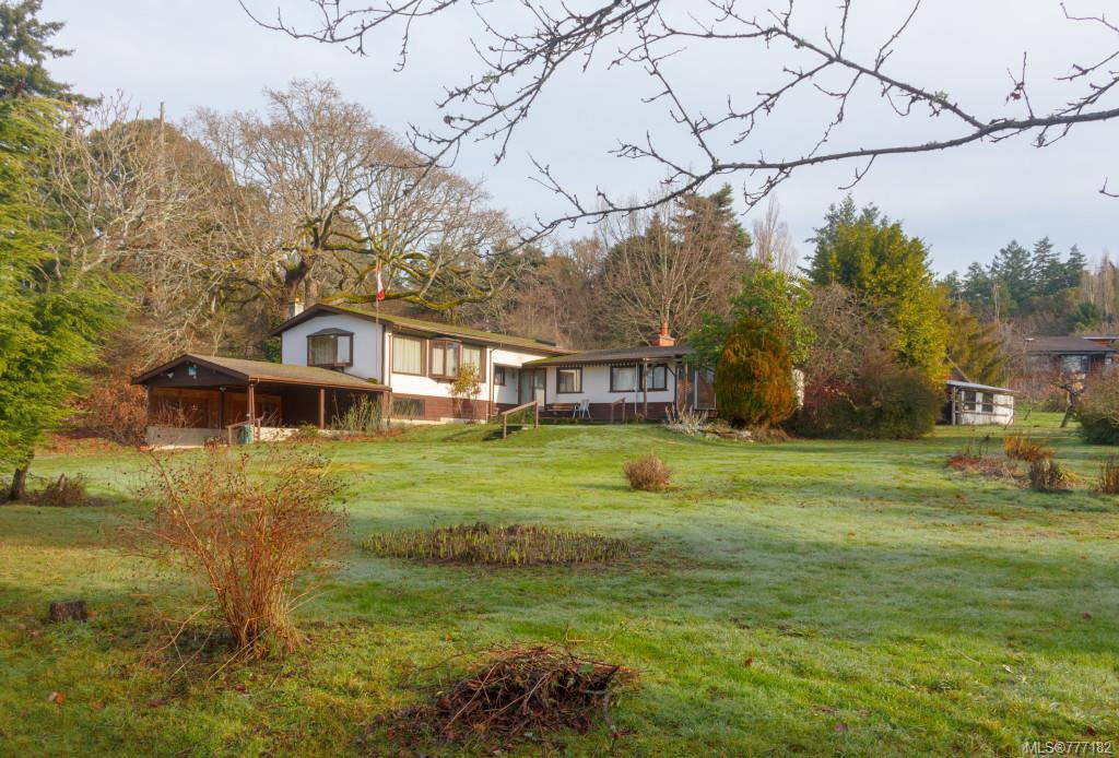 Main Photo: 506 Norris Rd in COURTENAY: NS Deep Cove House for sale (North Saanich)  : MLS®# 777182