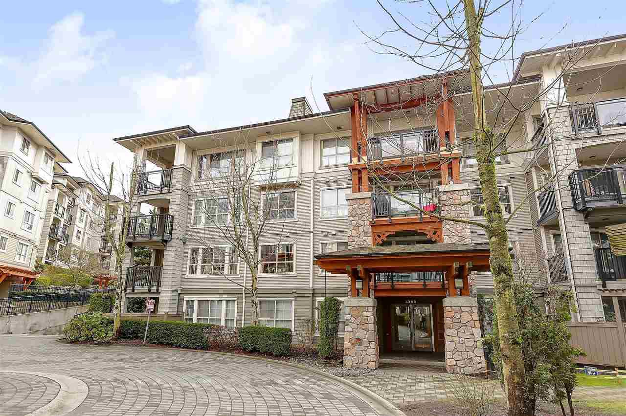 """Main Photo: 405 2966 SILVER SPRINGS Boulevard in Coquitlam: Westwood Plateau Condo for sale in """"TAMARISK"""" : MLS®# R2148671"""
