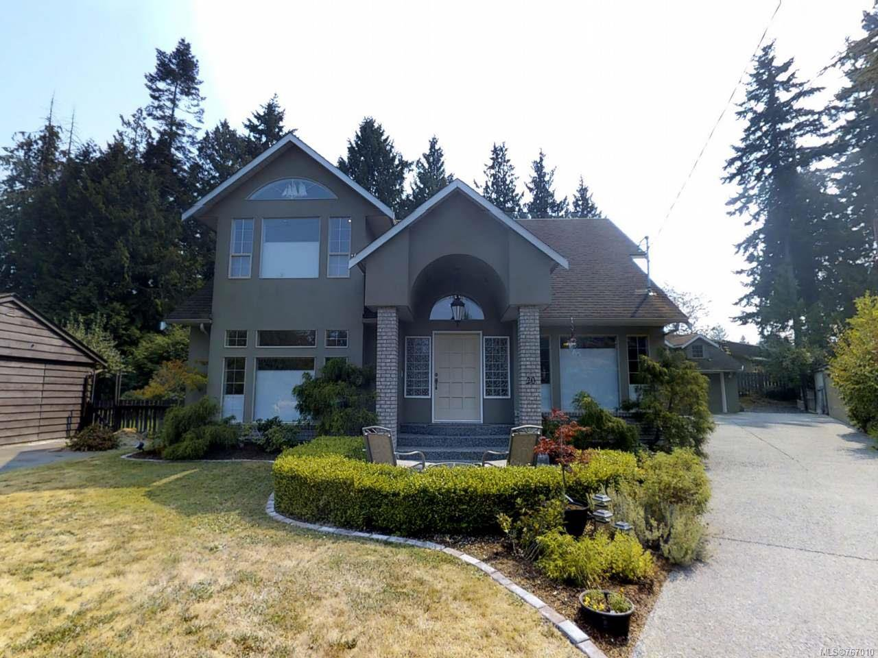 Main Photo: 20 WOODLAND DRIVE in PARKSVILLE: PQ Parksville House for sale (Parksville/Qualicum)  : MLS®# 767010