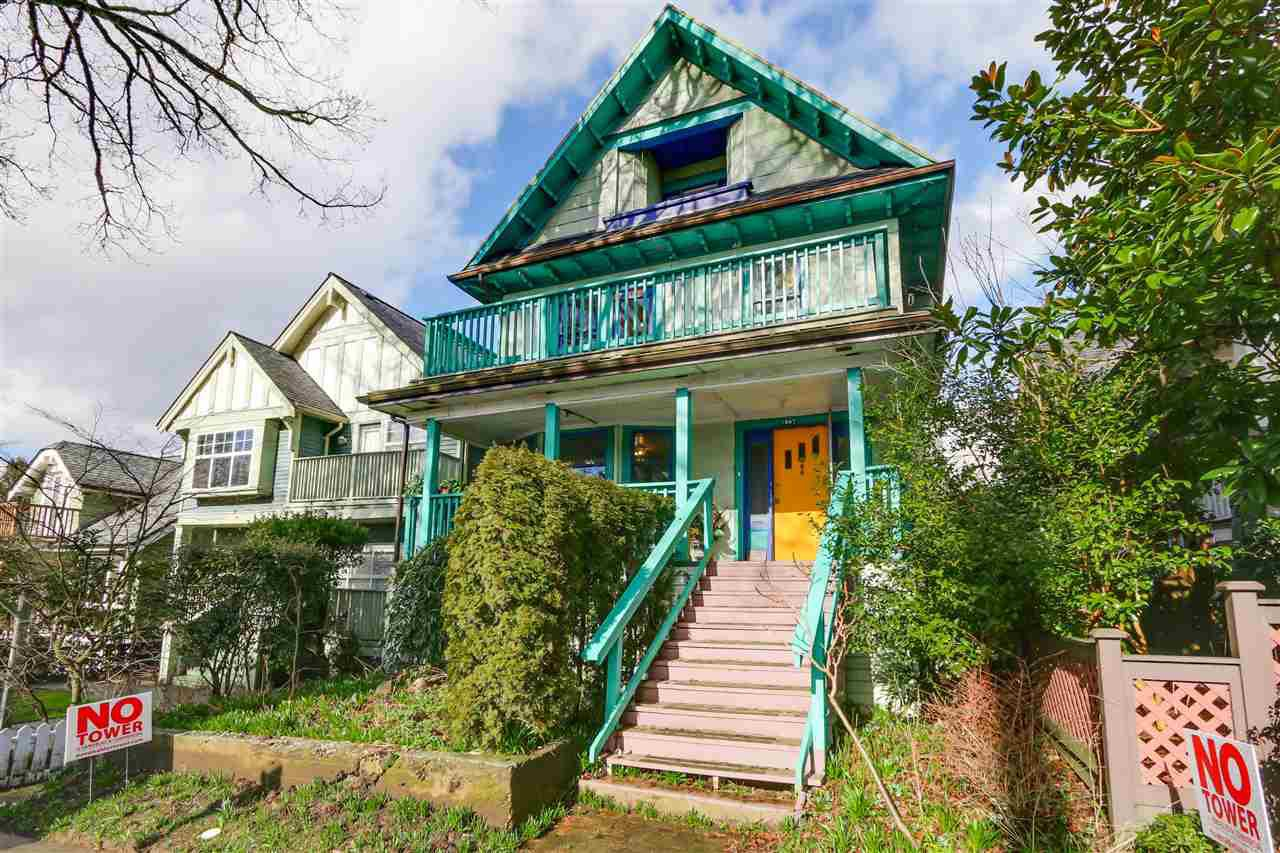 Main Photo: 1847 VENABLES Street in Vancouver: Hastings House for sale (Vancouver East)  : MLS®# R2034976