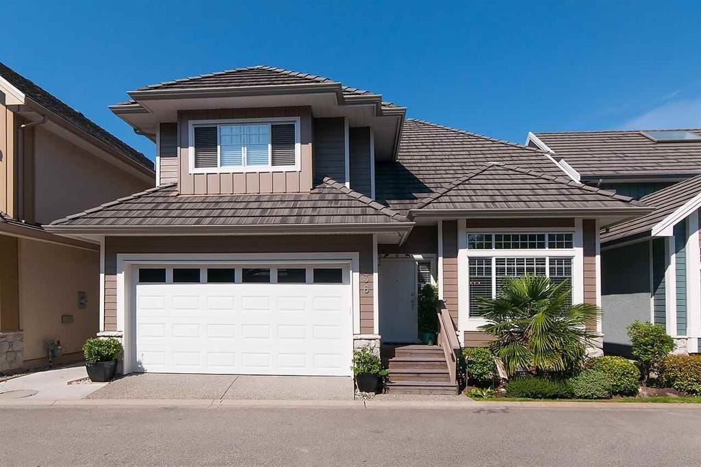 """Main Photo: 36 3363 ROSEMARY HEIGHTS Crescent in Surrey: Morgan Creek Townhouse for sale in """"Rockwell"""" (South Surrey White Rock)  : MLS®# R2128927"""