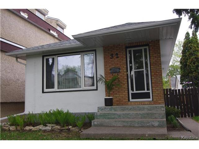 Main Photo: 32 Morley Avenue in Winnipeg: Riverview Residential for sale (1A)  : MLS®# 1712496