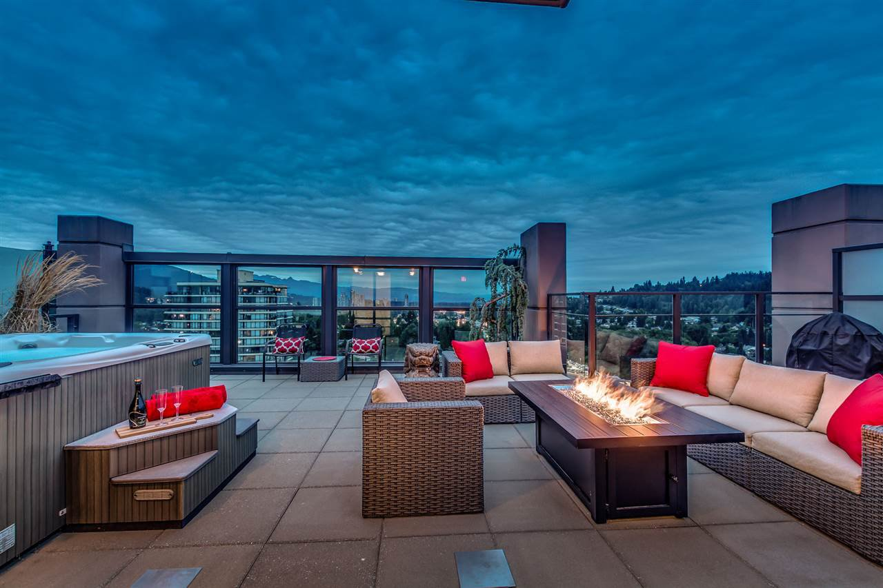 """Main Photo: 2703 301 CAPILANO Road in Port Moody: Port Moody Centre Condo for sale in """"THE RESIDENCES"""" : MLS®# R2191281"""