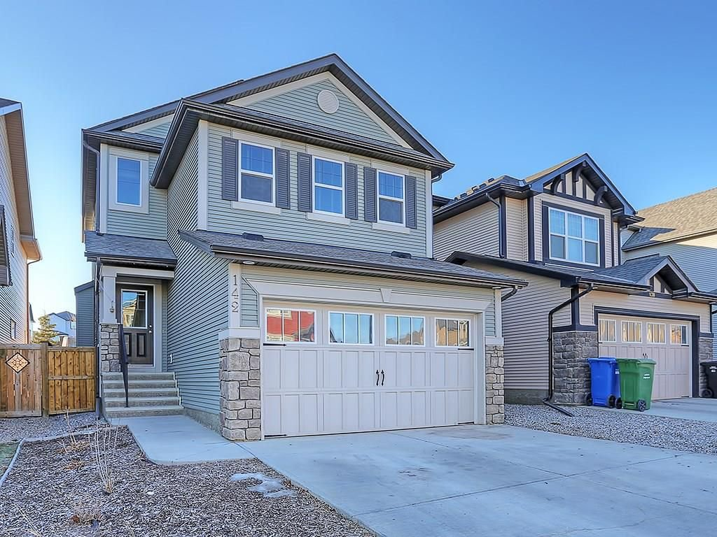Main Photo: 142 SAGE BANK Grove NW in Calgary: Sage Hill House for sale : MLS®# C4149523