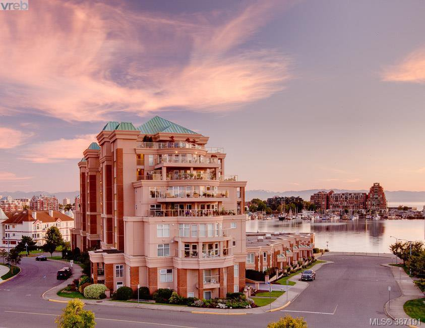 Main Photo: 409 75 Songhees Rd in VICTORIA: VW Songhees Condo for sale (Victoria West)  : MLS®# 777997