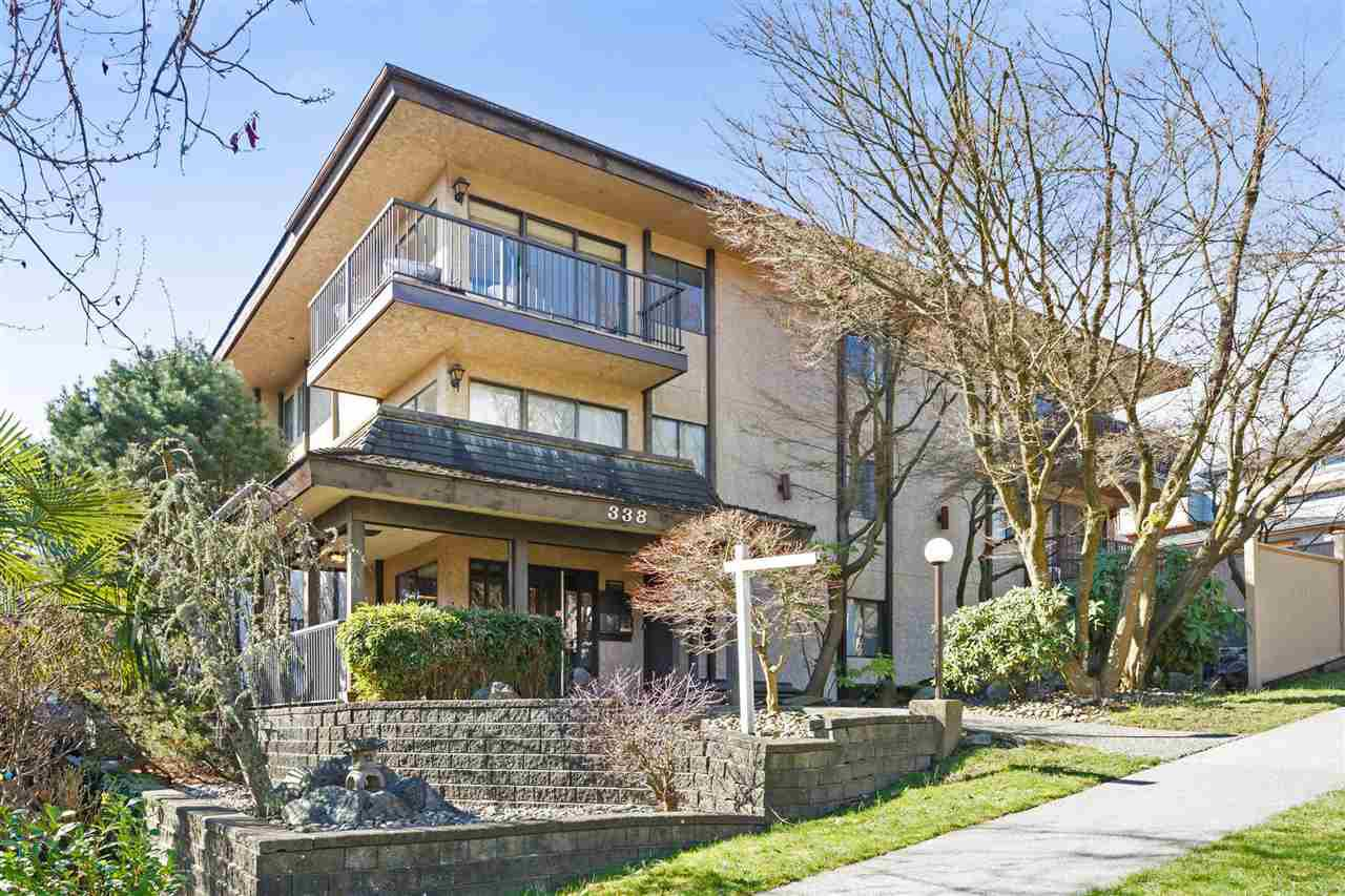 Main Photo: 103 338 WARD STREET in New Westminster: Sapperton Condo for sale : MLS®# R2262121
