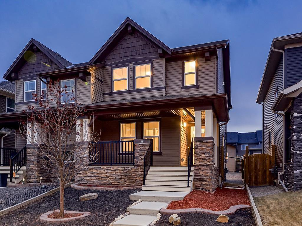 Main Photo: 49 LEGACY Mews SE in Calgary: Legacy Semi Detached for sale : MLS®# C4225776