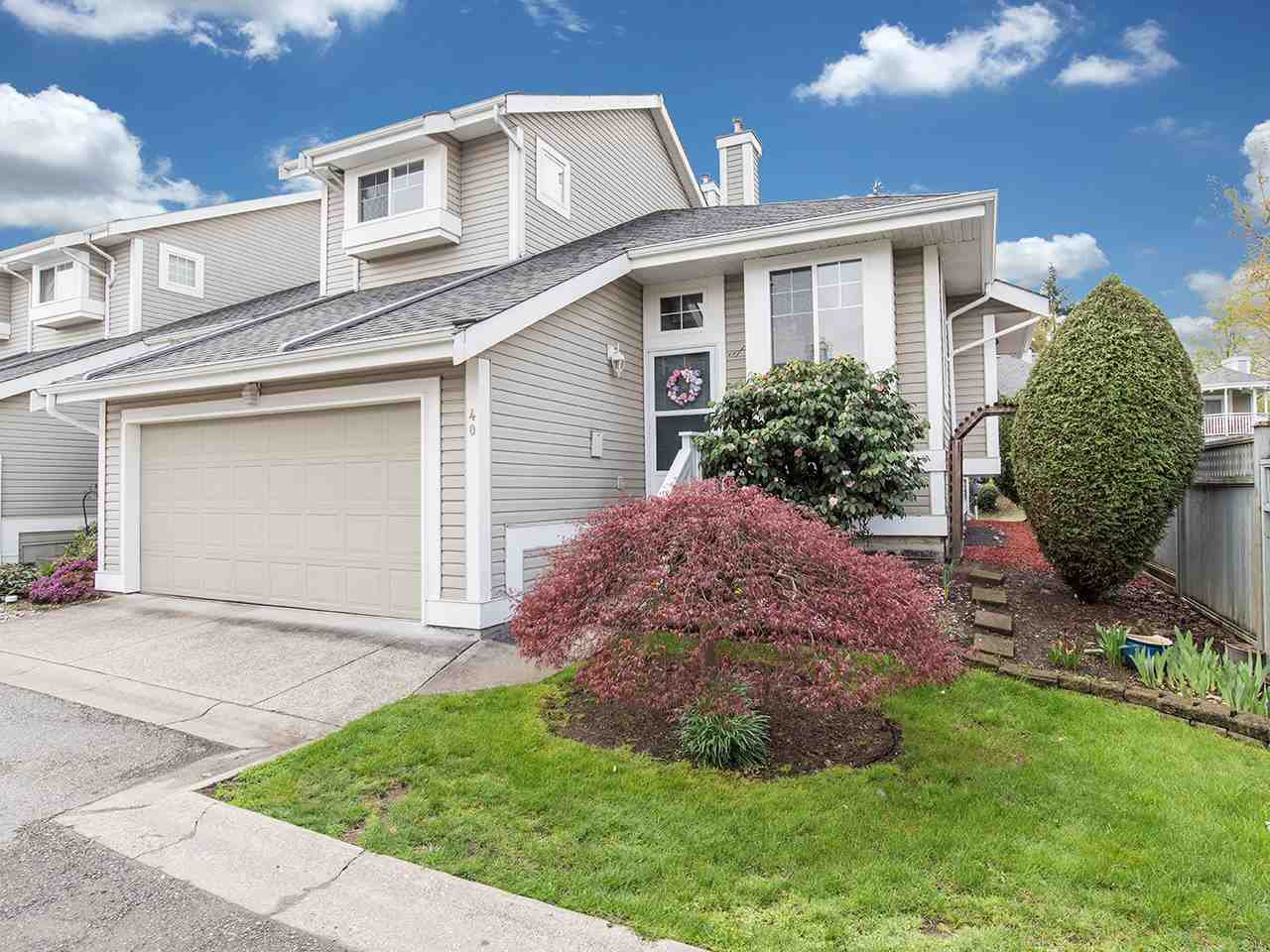 Main Photo: 40 20788 87 Avenue in Langley: Walnut Grove Townhouse for sale : MLS®# R2358146