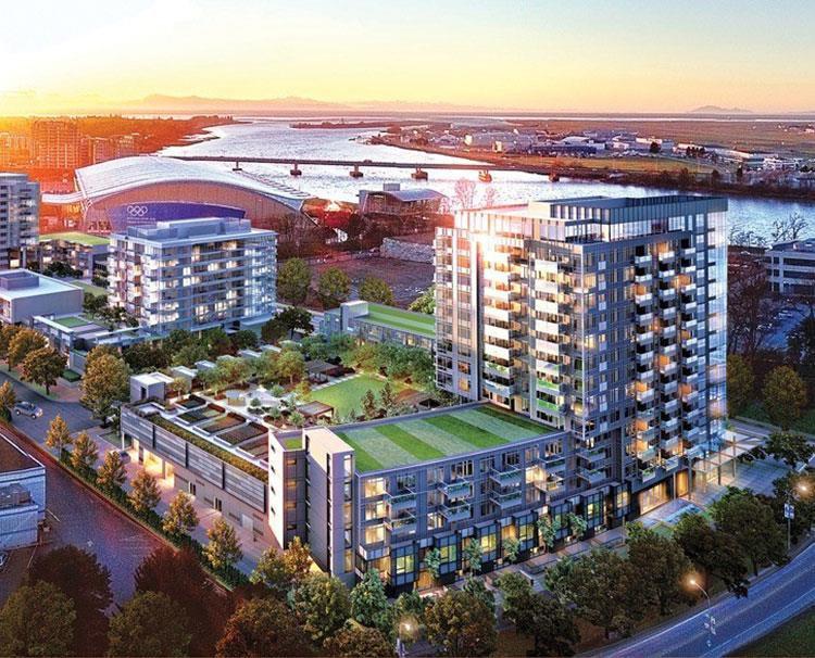 Main Photo: 610 5400 HOLLYBRIDGE Way in Richmond: Brighouse Condo for sale : MLS®# R2371318