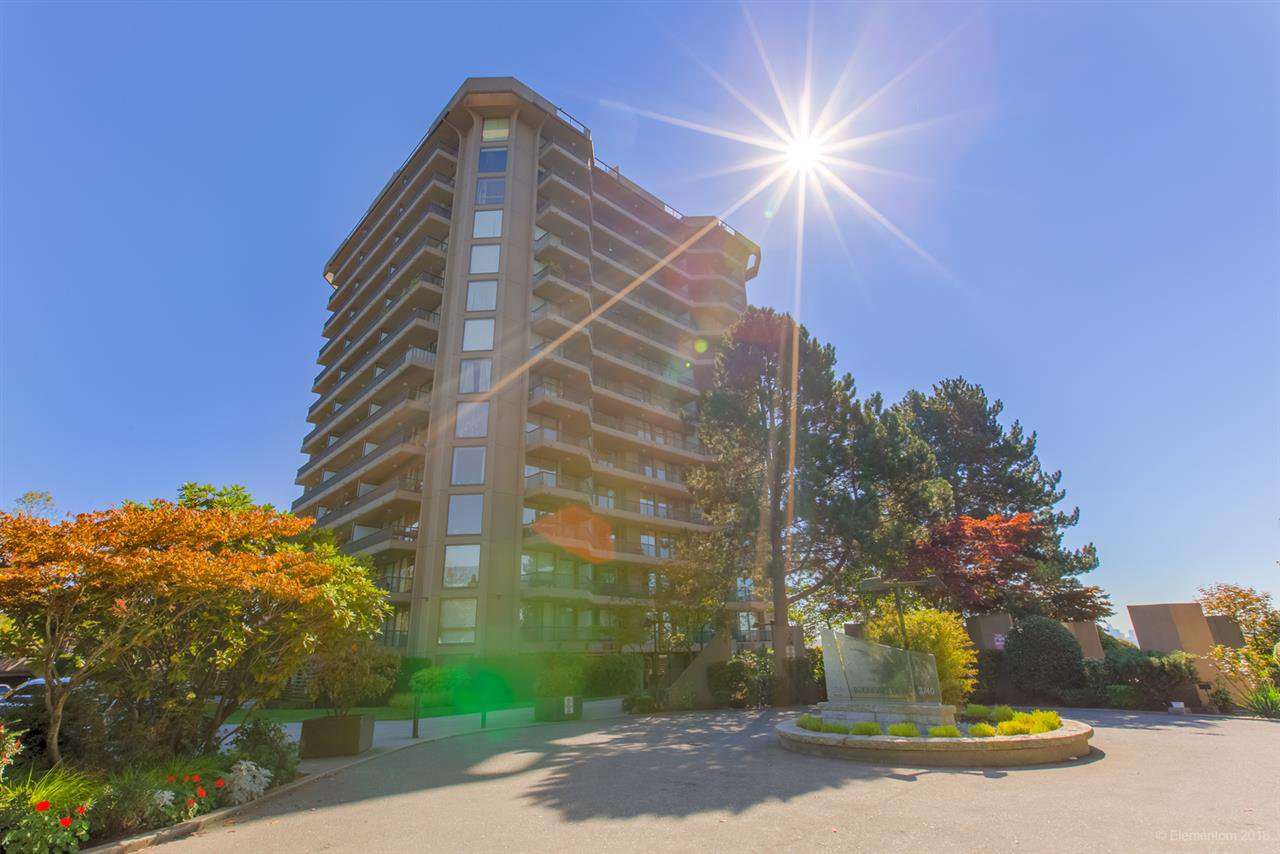 """Main Photo: 1407 3760 ALBERT Street in Burnaby: Vancouver Heights Condo for sale in """"Boundary View"""" (Burnaby North)  : MLS®# R2498184"""