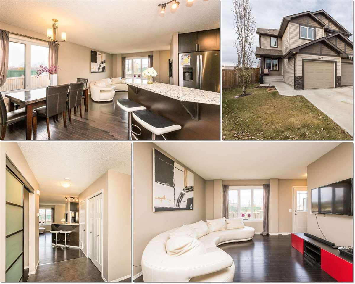 Main Photo: 14014 164 Avenue in Edmonton: Zone 27 House Half Duplex for sale : MLS®# E4220655