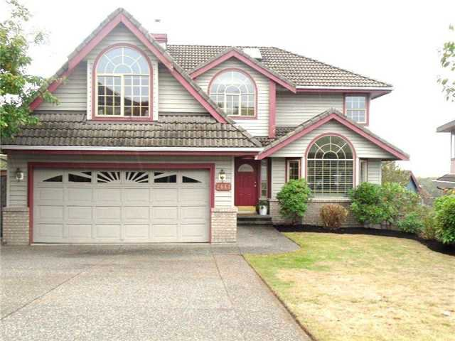 Main Photo: 2661 FORTRESS Drive in Port Coquitlam: Citadel PQ House for sale : MLS®# V977520