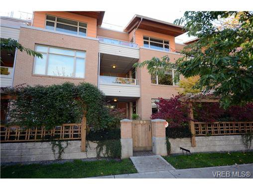 Main Photo: 103 1035 Sutlej St in VICTORIA: Vi Fairfield West Condo Apartment for sale (Victoria)  : MLS®# 713889