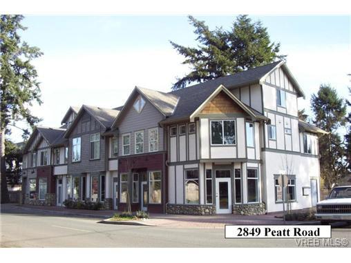 Main Photo: 101 2849 Peatt Rd in VICTORIA: La Langford Proper Office for sale (Langford)  : MLS®# 723362