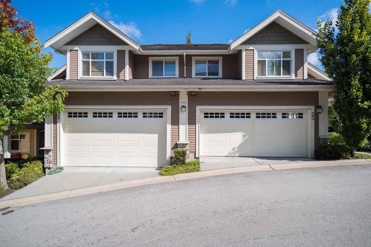"Main Photo: 33 15237 36 Avenue in Surrey: Morgan Creek Townhouse for sale in ""ROSEMARY WALK"" (South Surrey White Rock)  : MLS®# R2107333"