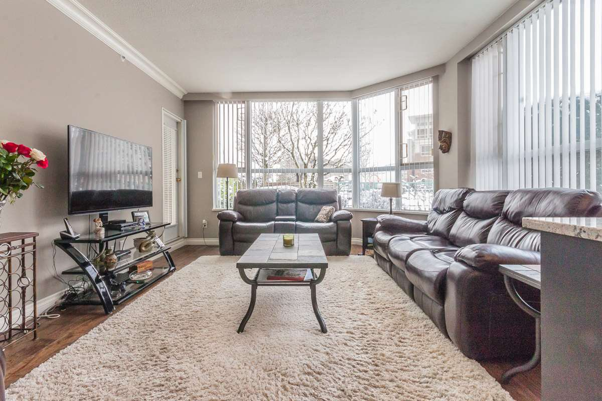 """Main Photo: 104 3190 GLADWIN Road in Abbotsford: Abbotsford West Condo for sale in """"Regency Park"""" : MLS®# R2141638"""