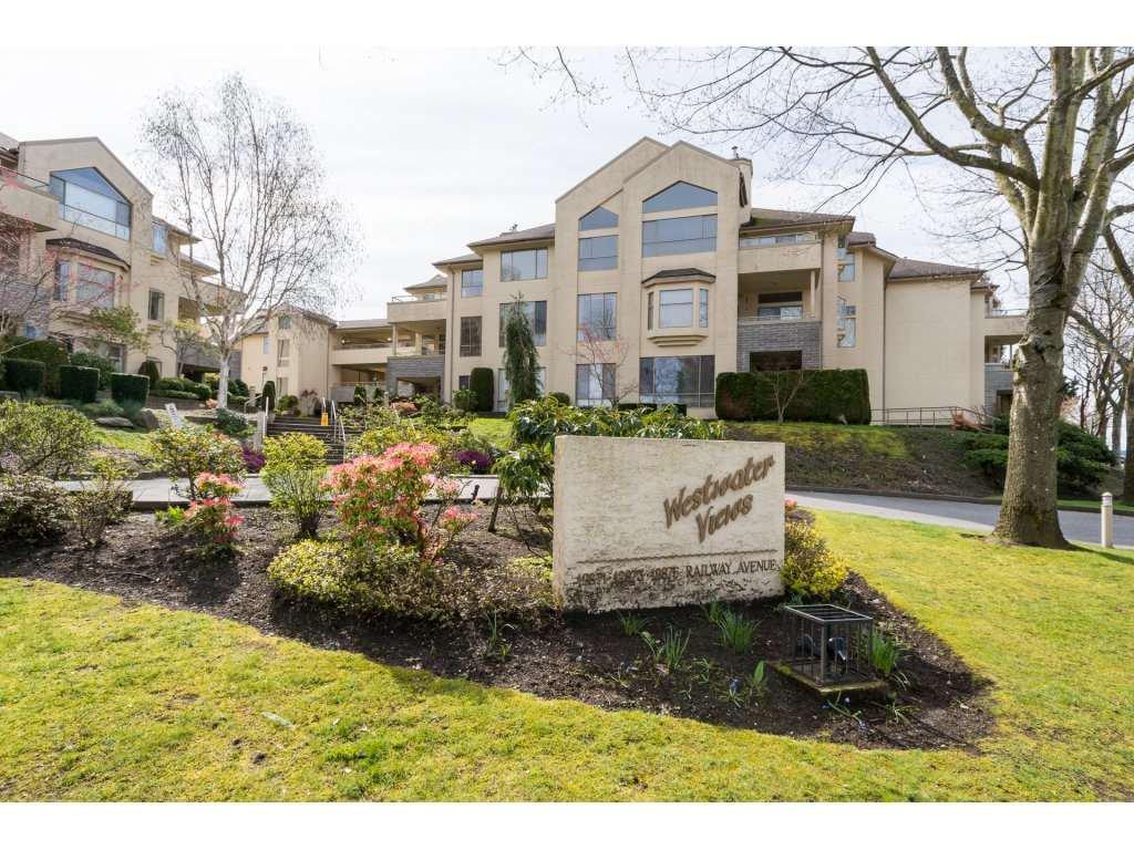 "Main Photo: 236 12875 RAILWAY Avenue in Richmond: Steveston South Condo for sale in ""WESTWATER VIEWS"" : MLS®# R2155770"