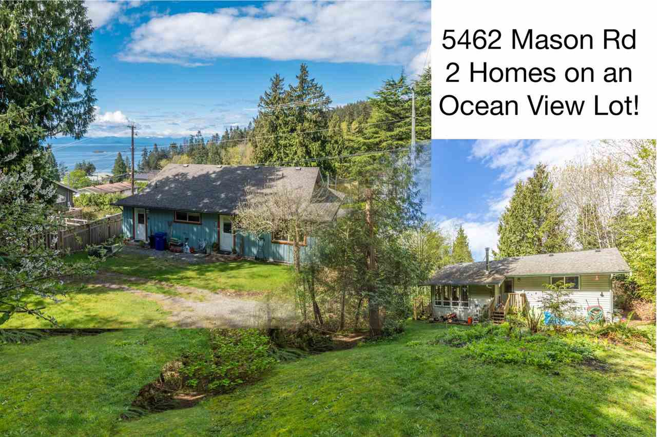 "Main Photo: 5462 MASON Road in Sechelt: Sechelt District House for sale in ""WEST SECHELT"" (Sunshine Coast)  : MLS®# R2174374"
