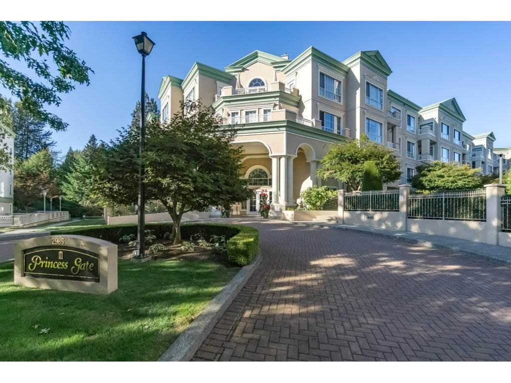 Main Photo: 308 2985 Princess Crescent in Coquitlam: Canyon Springs Condo for sale : MLS®# R2210208