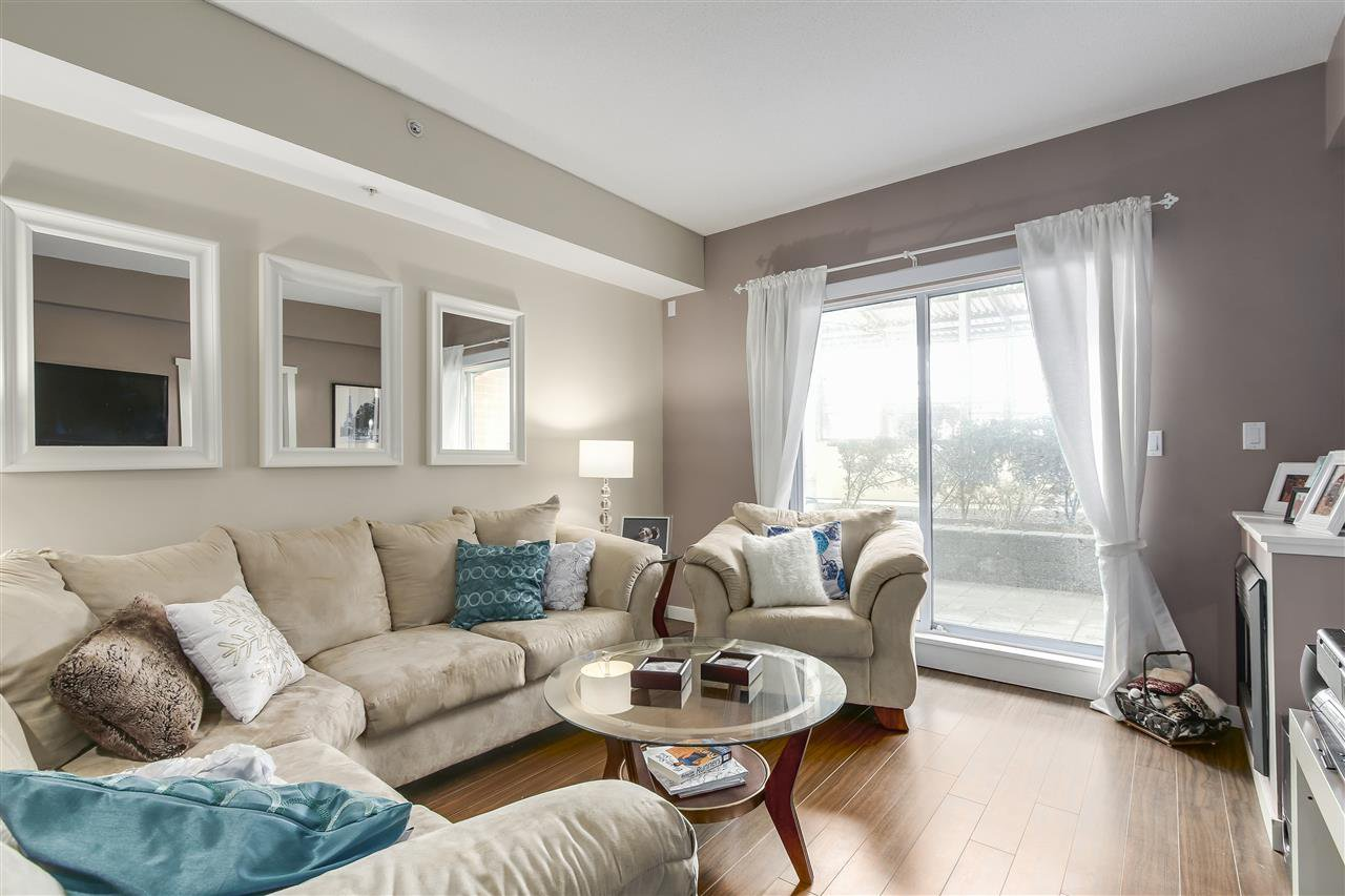 "Photo 2: Photos: 109 200 KEARY Street in New Westminster: Sapperton Condo for sale in ""The Anvil"" : MLS®# R2225667"