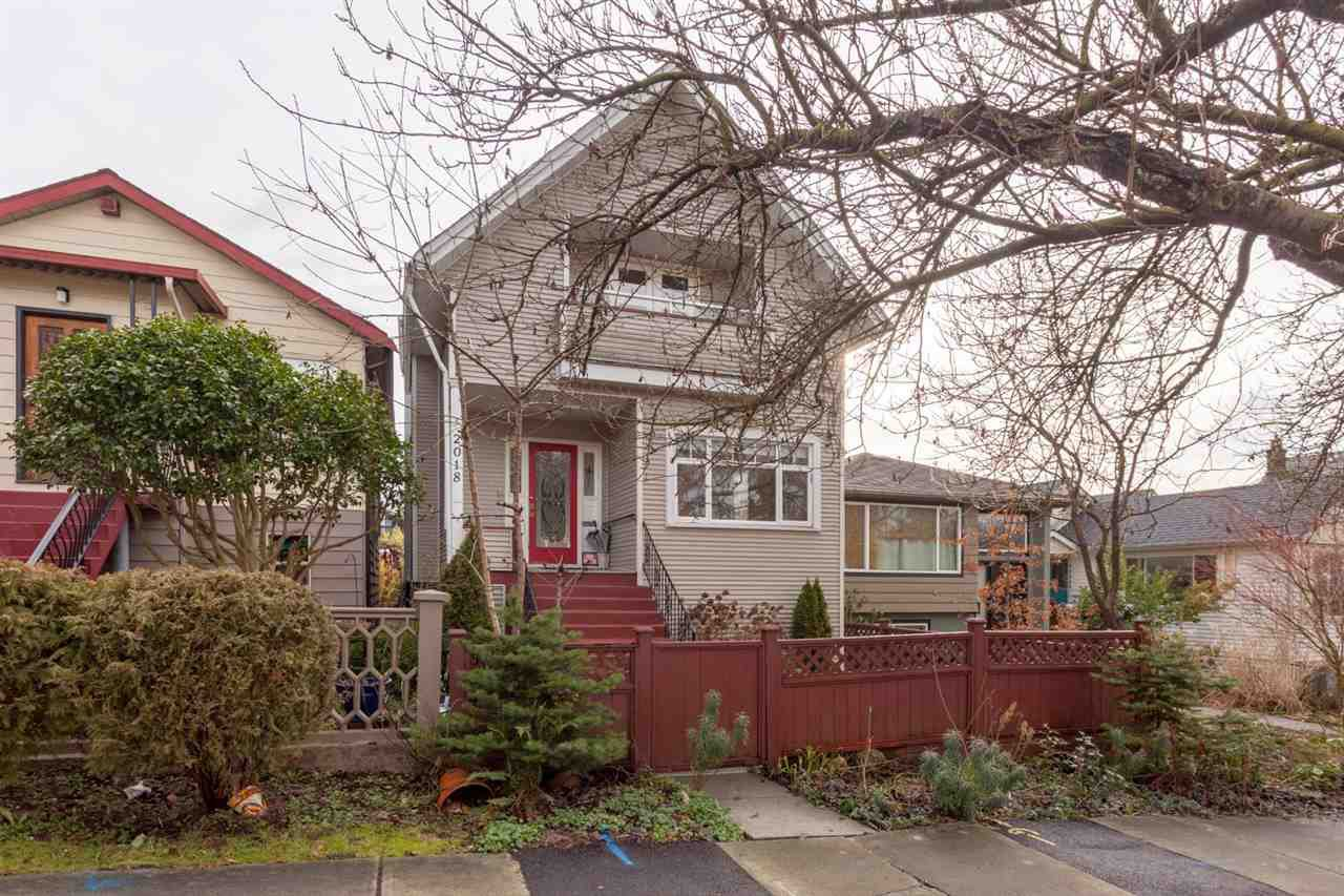 """Main Photo: 2018 CHARLES Street in Vancouver: Grandview VE House for sale in """"COMMERCIAL DRIVE"""" (Vancouver East)  : MLS®# R2235267"""