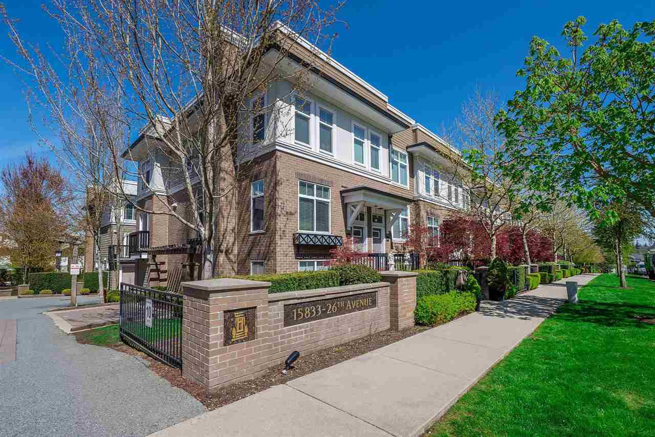 "Main Photo: 31 15833 26 Avenue in Surrey: Grandview Surrey Townhouse for sale in ""Brownstones"" (South Surrey White Rock)  : MLS®# R2271800"