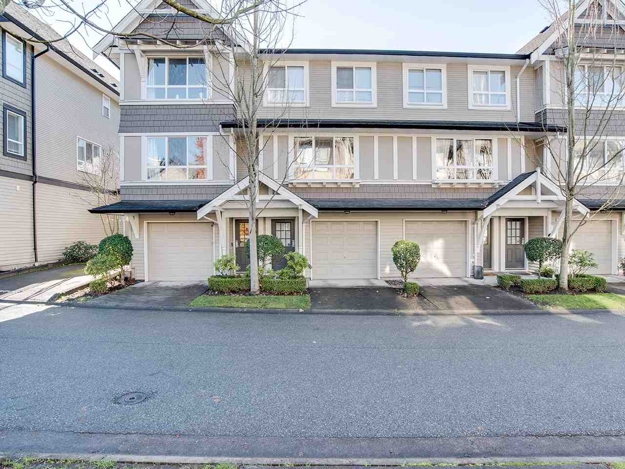 "Main Photo: 8 6747 203 Street in Langley: Willoughby Heights Townhouse for sale in ""SAGEBROOK"" : MLS®# R2323050"