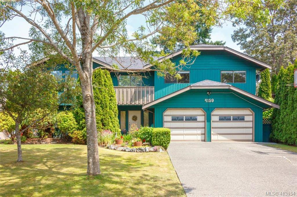 Main Photo: 4159 Tuxedo Drive in VICTORIA: SE Lake Hill Single Family Detached for sale (Saanich East)  : MLS®# 413154