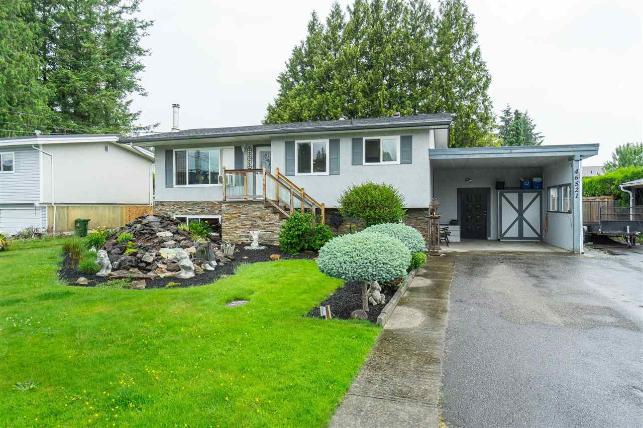 Main Photo: 46521 GILBERT Avenue in Chilliwack: Fairfield Island House for sale : MLS®# R2420328